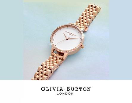 Olivia Burton Gold Rainbow Dots Watch