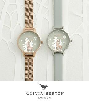 Olivia Burton Watches 2 winter watches