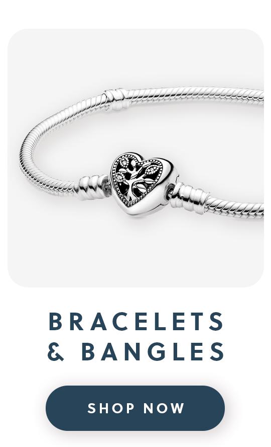 A Pandora silver bracelet