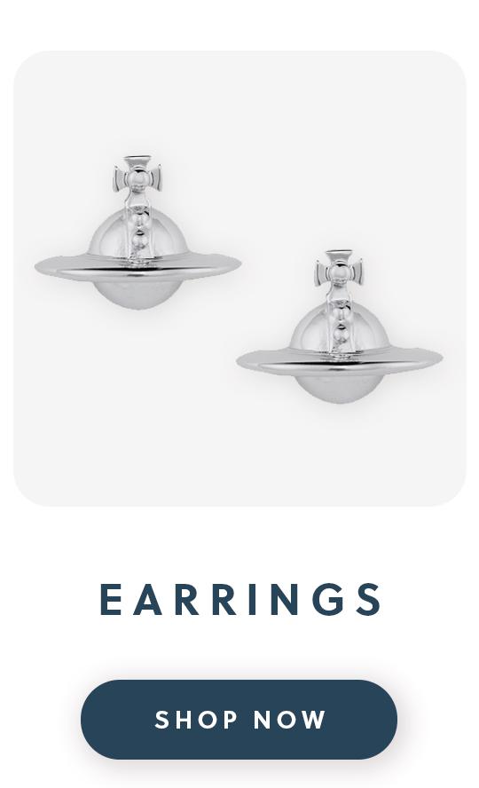 Vivienne Westwood silver earrings