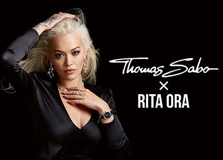 Rita Ora image, Thomas Sabo x Rita Ora lettering