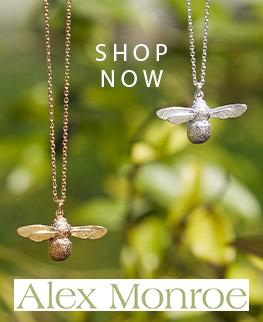 Alex Monroe Bee Necklace popular brands