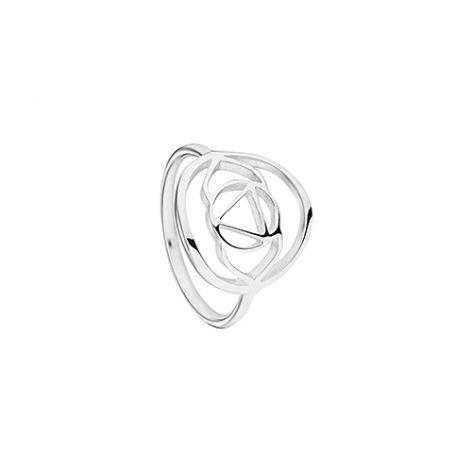 Daisy Silver Brow Chakra Ring