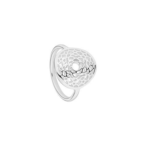 Daisy Silver Crown Chakra Ring