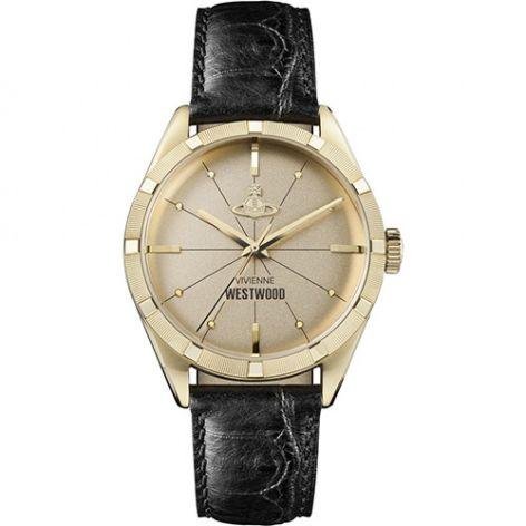 Vivienne Westwood Conduit Steel Gold Dial 41 mm Men's Watch