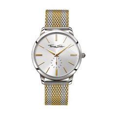 Thomas Sabo Mens Rebel Spirt Gold Dial Strip 42mm Watch