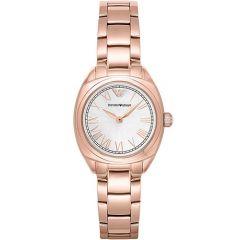 Emporio Armani Ladies Rose Gold 28mm Watch