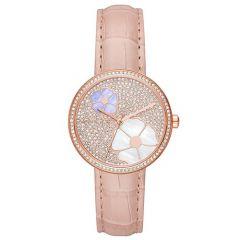 Michael Kors Courtney Flower & Pearl Dial 36 mm Ladies Watch