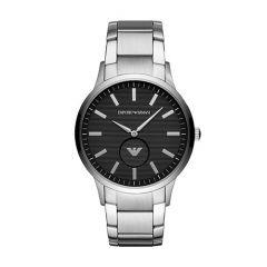 Emporio Armani Steel Logo Dial 43 mm Men's Watch