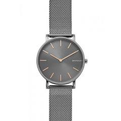 Skagen Hagen Grey Stainless Steel & Mesh 38MM Men's Watch