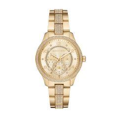 Michael Kors Gold-Plated Steel & Pavé 38 mm Women's Watch