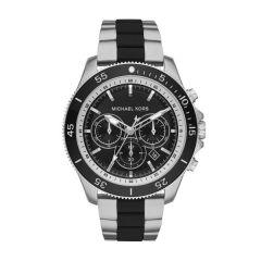 Michael Kors Theroux Steel Black 45 mm Men's Chronograph Watch