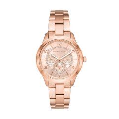 Michael Kors Runway Chronograph Rose-Gold Steel 38 mm Women's Watch