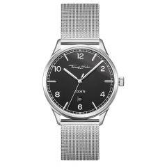 Thomas Sabo Code TS Steel & Black Dial 40 mm Date Watch