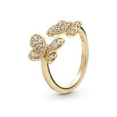 Pandora Dazzling Butterflies Ring
