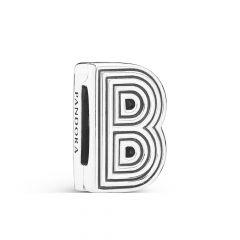 PANDORA Reflexions Sterling Silver Alphabet B Clip