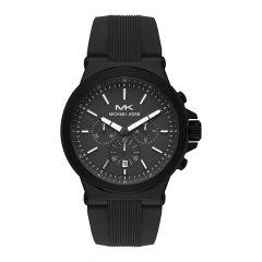 Michael Kors Dylan Black Steel 48MM Men's Chronograph Watch
