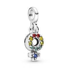 Pandora Me Collection Girl Pride Micro Dangle Charm