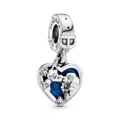 Pandora Disney Lady and the Tramp Silver Dangle Charm
