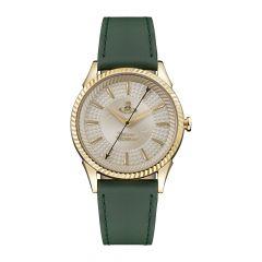 Vivienne Westwood Seymour Golden Steel & Green 37mm Watch