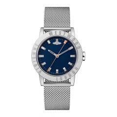 Vivienne Westwood Warwick Steel Mesh & Blue 34MM Women's Watch