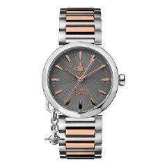 Vivienne Westwood Poplar Steel & Rose-Gold 31MM Women's Watch
