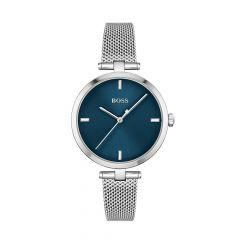 BOSS Watches Majesty Steel & Blue Dial 32MM Women's Watch