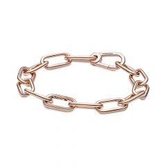 Pandora Me 14K Rose Gold-Plated Link Chain Charm Bracelet