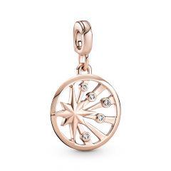 Pandora Me Collection Rays of Life Medallion Charm
