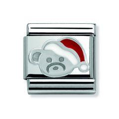 Nomination Composable Classic Christmas Bear Charm