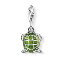 Thomas Sabo Silver Turtle Charm