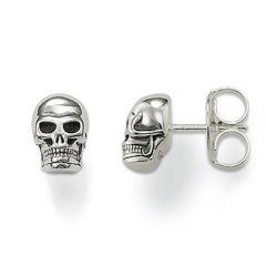 Thomas Sabo Silver Skull Stud Earrings