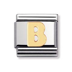 Nomination Composable Classic Letter B Charm