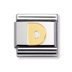 Nomination Composable Classic Letter D Charm