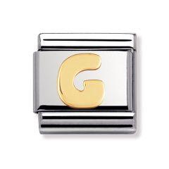 Nomination Composable Classic Letter G Charm