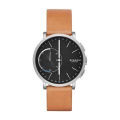 Skagen Hagen Tan Leather Strap Hybrid Connected Watch