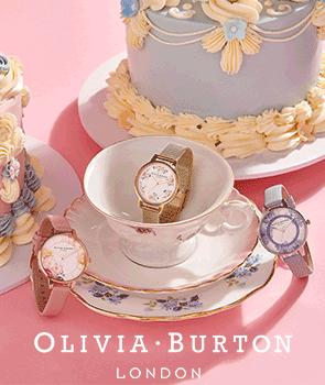 Olivia Burton Tea Party Pink