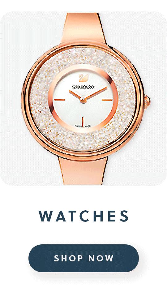 A Swarovski watch wtih text watches shop now